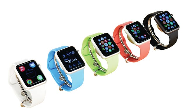 Apple Watches start at $349.