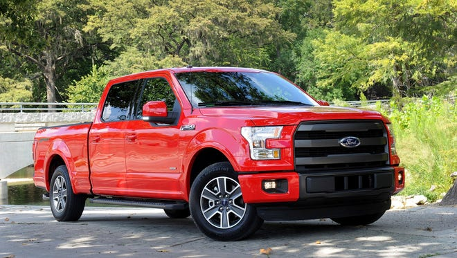 2015 Ford F-150 will be included in a sales promotion that starts Nov. 3, 2015