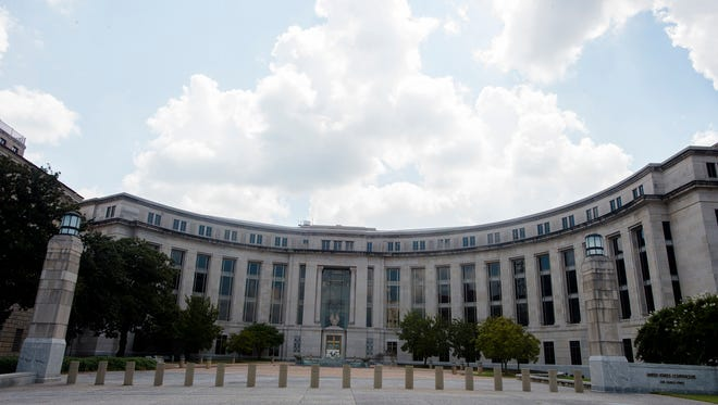 The United States Courthouse in Montgomery, Ala., on Tuesday, Sept. 1, 2015.