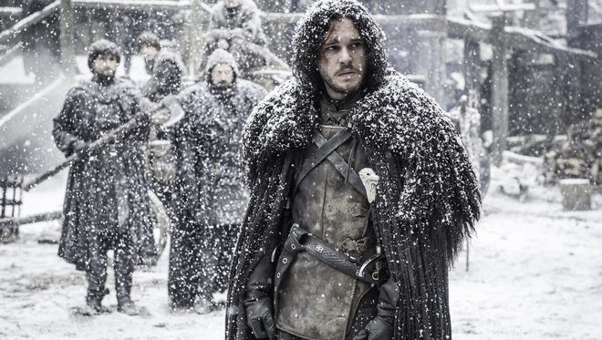 "Kit Harington in HBO's ""Game of Thrones."""