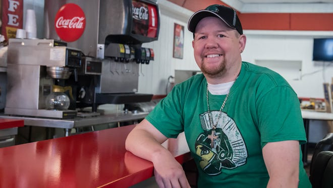 Mike Dezotell Jr, Co-owner/Operator of Juicy Burger.