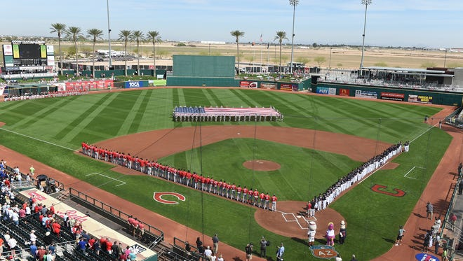 The American League Champion Cleveland Indians return to Goodyear Ballpark to take on the Cincinnati Reds 1:05 p.m. Saturday, Feb. 25, kicking off the 2017 spring training season.