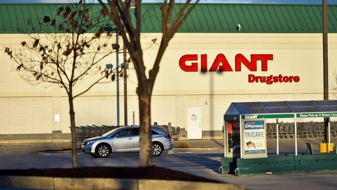 Giant on East Market Street in Springettsbury Township, photographed in March 2017.