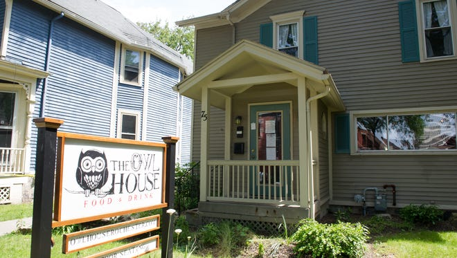 The Owl House, located at 75 Marshall St. in downtown Rochester.