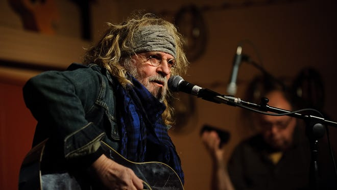Singer-songwriter Ray Wylie Hubbard played one night at the Treehouse Cafe in 2016 and is back for two nights this year.