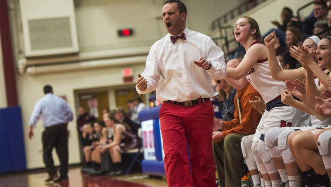 James Kunkle compiled a 37-18 record in two seasons as the head girls' basketball coach at New Oxford. The Colonials reached the District 3 playoffs both seasons.