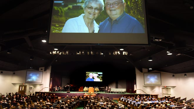 A special video presentation was created by Dave Brown and shown during the funeral of his father, Stan. The video included interviews with Stan and photographs of him with his family.