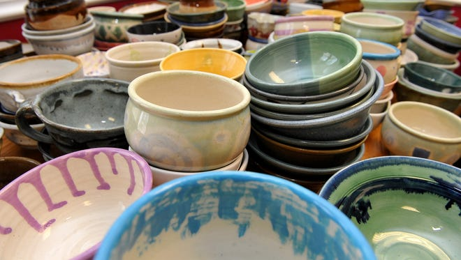 YWCA's Empty Bowls event raises money for the YWCA and Mercy Home.