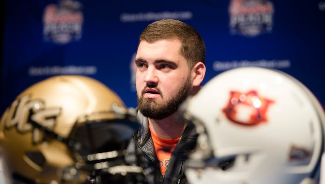 Austin Golson (73) has been added to the South roster for Saturday's Senior Bowl in Mobile.