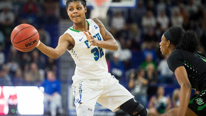 FGCU's Rosemarie Julien has signed a training camp deal with the WNBA's Atlanta Dream.