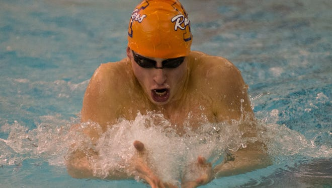 Luke Johnson helped Harrison advance two relays to the IHSAA state meet.