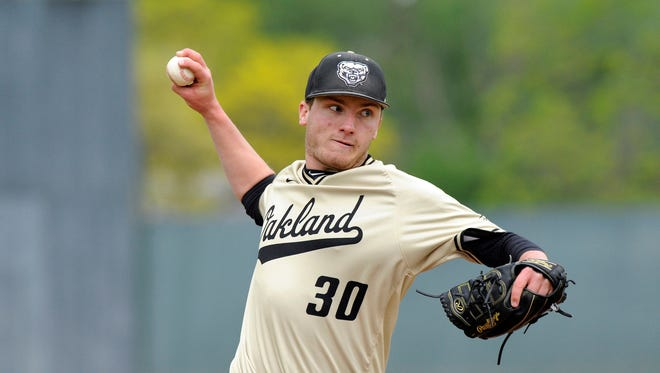 Milford graduate Jake Lee was a ninth-round pick by the Los Angeles Angels in the recent 2018 Major League Baseball draft.