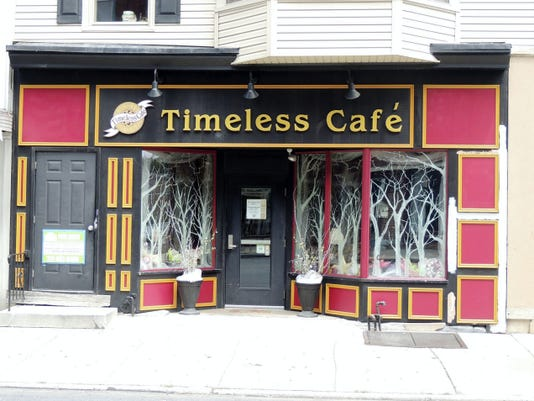 Timeless Cafe, 18 S. Eighth St., is one of 20 restaurants to participate in Lebanon County Restaurant Week.