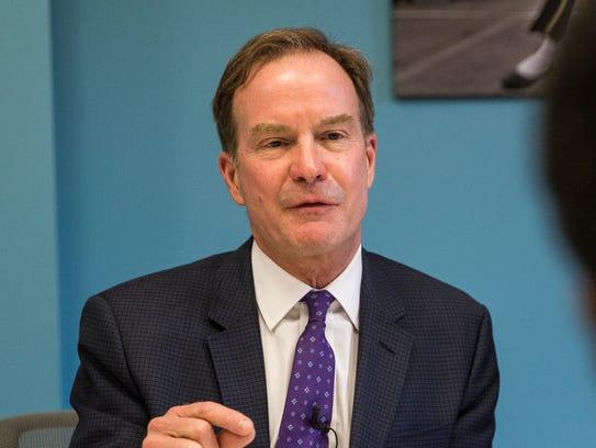 Bill Schuette, Michigan Attorney General, answers a