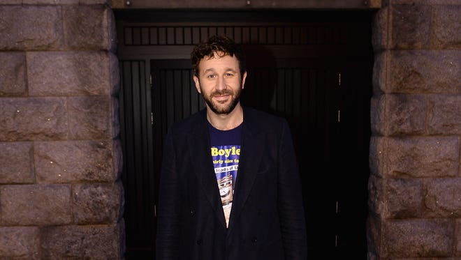 """Chris O'Dowd, Arthur Guinness Projects panelist, prior to the"""" From The Storehouse With Dermot Whelan"""" show."""