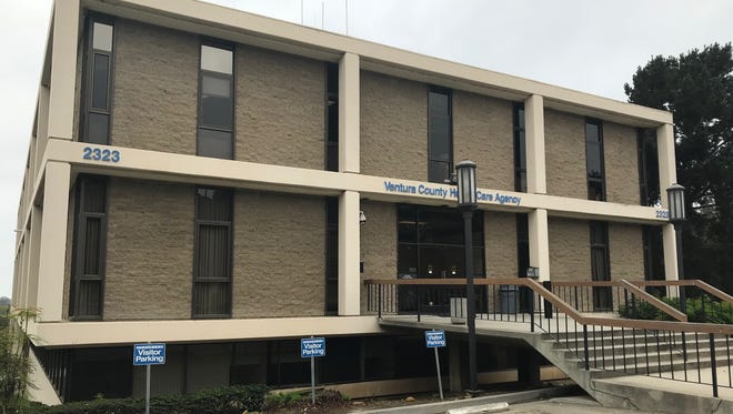 This county-owned building is being studied as a site for a homeless shelter.