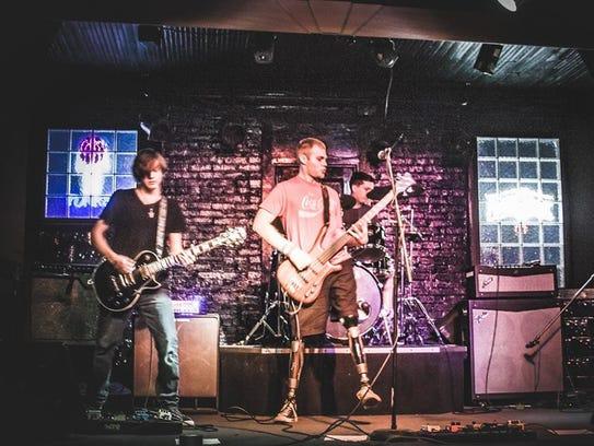 RAM (from left): Ryan Conti, Jacob Conti, Aaron Moore