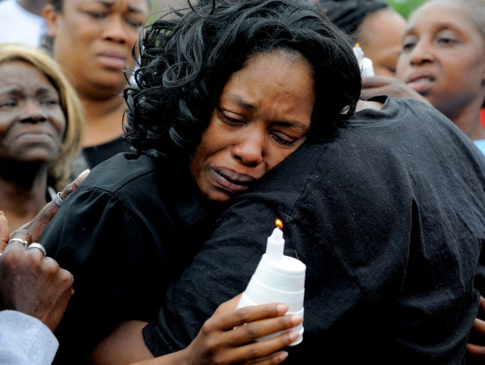 Alisha Jackson, the mother of the two children killed