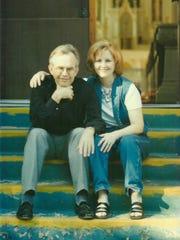 Dan Scott and his wife, Trish, in 2004