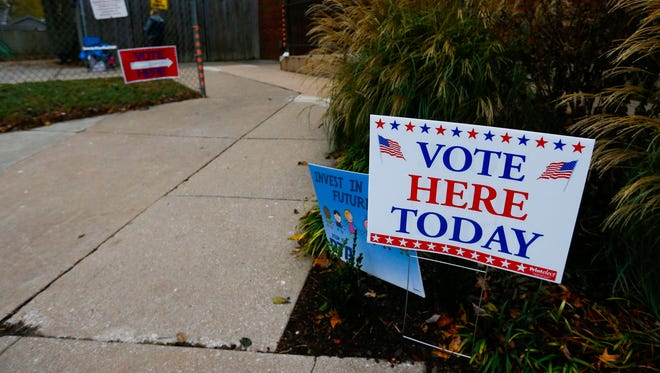 Springfield and Greene County voters headed to polling locations on Tuesday, Nov. 7, 2017 to vote on tax issues.