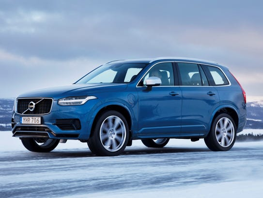 This undated photo provided by Volvo shows the XC90