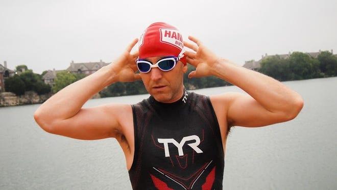 Ultradistance swimmer Allen Ellenstein