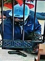 "A man with a ""T"" baseball cap on Dec. 28 robbed the"