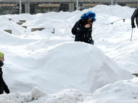 New England Snow Commute