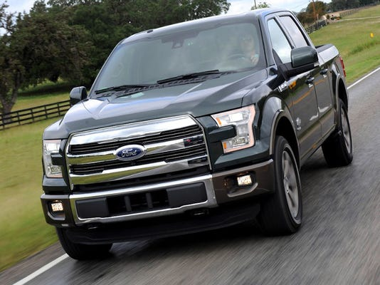 Ford F  Mpg Tops Among Full Size Gas Powered Pickups