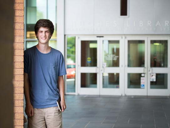 Sam Gee, who will be attending UNC Chapel Hill in the