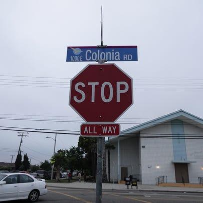 STAR FILE PHOTO Colonia Road in Oxnard