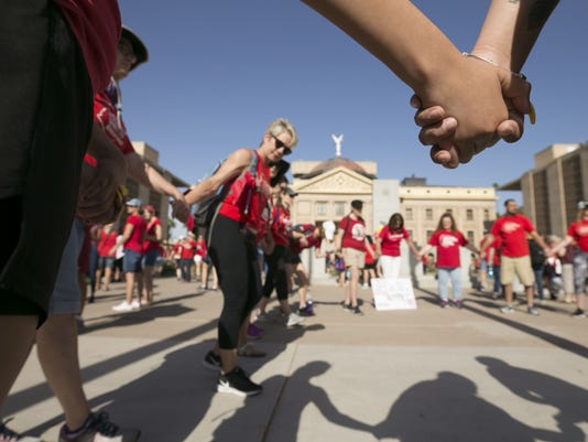 Arizona teacher walkout #RedForEd