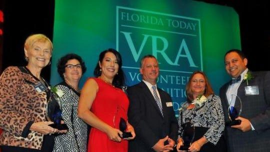 VRA Award winners (left to right) Mary Allen,  Kristen