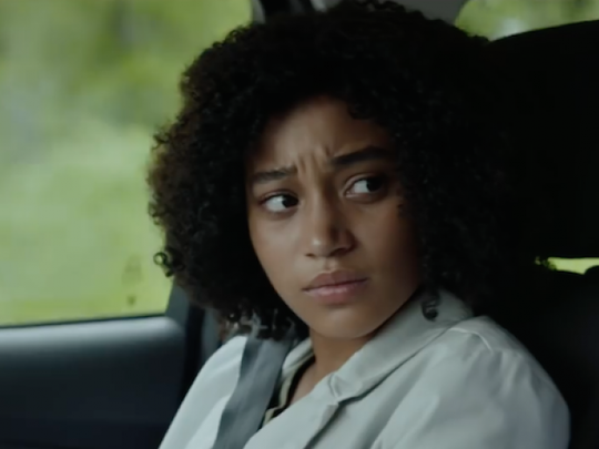 """Amadnla Stenburg is the star of the YA movie """"The Darkest Minds,"""" opened Friday."""