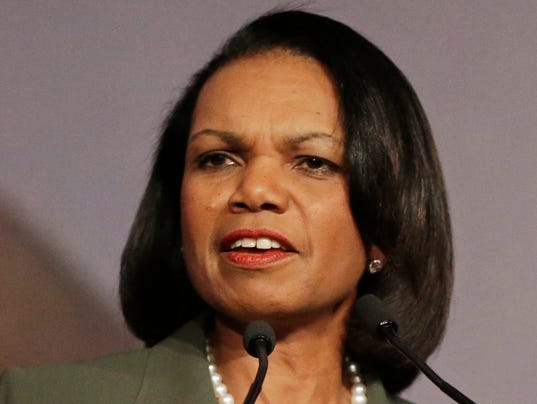 Your Say 0507 AP UMinn Condoleeza Rice