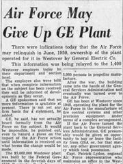 A clipping from the May 13, 1959 Binghamton Press about