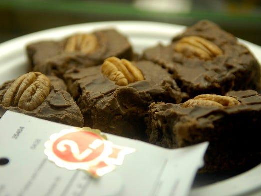 Frances Neil Blanc's brownies won a second place ribbon