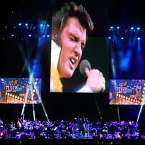Larger-than-life Elvis concert captures essence of the King for 40th anniversary