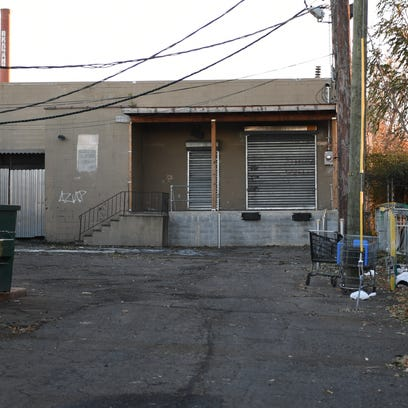Warehouse near the corner of East 15th Street and 5th