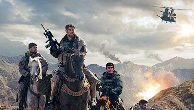 """""""12 Strong"""" tells the story of the first Special Forces team deployed to Afghanistan after 9/11."""