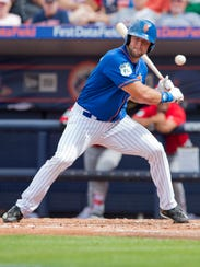 Tim Tebow, shown in this March 8, 2017 spring training