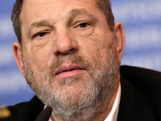Harvey Weinstein. (AP Photo/Michael Sohn, File)
