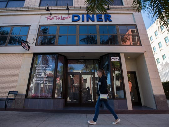 Flat Top Larry's Diner in downtown Fort Myers has closed. The space is becoming PrimaFila Pizza e Ristorante Italiano.