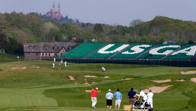 No. 18 at Erin Hills could provide golfers with a tough test for the U.S. Open