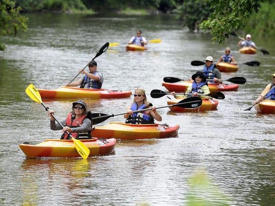 Kayaking - Janelle Atyeo - Farm Field canoe launch - parks board