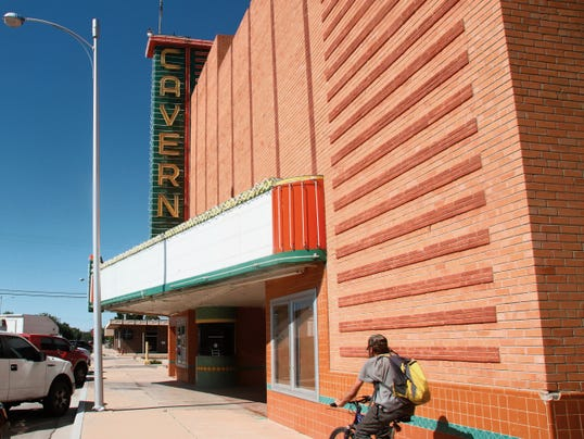 Bob Light has offered to donate money to buy seating for the Cavern City Theater.