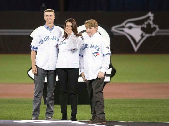 Mar 29, 2018; Toronto, Ontario, CAN; Toronto Blue Jays