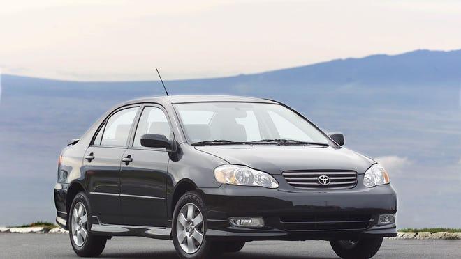 2003 Toyota Corolla S.
