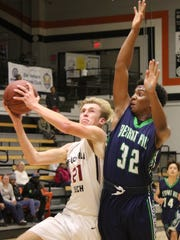 Cameron Strain, left, is part of a balanced Foothill