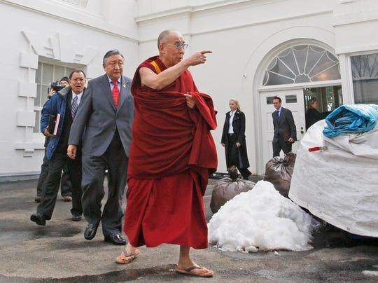 AP Obama Dalai Lama